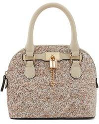 ALDO Dome Bag with Pad Lock Detail - Multicolore