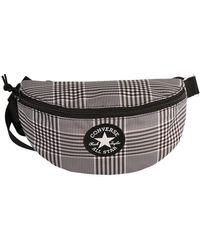 Converse Belt Bag Sling Pack Black White