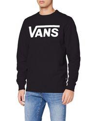Vans Sweat-shirt - Noir v00yx0y28 - Blanc