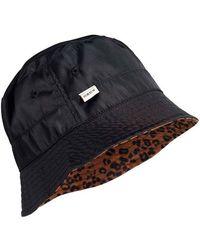 Superdry Nylon Reversible Bucket Hat Gorro Estilo Pescador - Negro