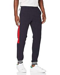 Tommy Hilfiger Colorblocked Sweatpants Sport Pullover - Blau