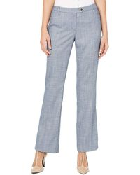 Calvin Klein - S Blue Wear To Work Pants Petites - Lyst