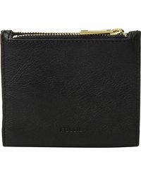 Fossil Shelby Mini Multifunction Wallet - Black