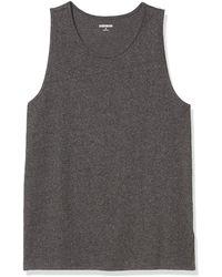 Goodthreads Soft Cotton Tank Top T-Shirt - Gris