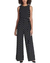 Tommy Hilfiger - Printed Jersey Jump Suit - Lyst