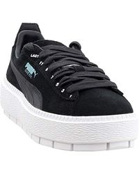 5d593ca5463d4 S Ader Error Platform Trace Casual Athletic & Trainers Black