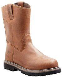 Dickies Footwear S Abbott Steel Toe Work Boots - Brown