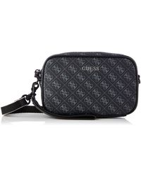 Guess Vizzola Small Nescesire Backpack pour homme - Noir