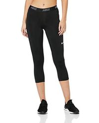 Nike - Victory Baselayer 3/4 Capri Pants - Lyst