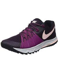 online store def78 1417e Nike - Air Zoom Wildhorse 4 Running Shoes, Purple (port Wine tea Berry