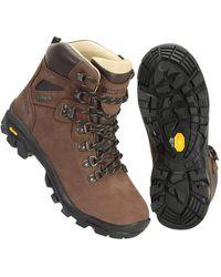 Mountain Warehouse Durable Ladies Hiking - Brown