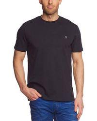 Marc O'polo Logo Short Sleeve Crew Neck T-shirt - Black