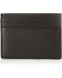Calvin Klein Ck Bombe' Cardholder Geldbörse - Schwarz