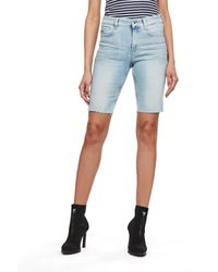 G-Star RAW 4311 Noxer High Slim Pantaloncini - Blu