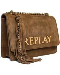 Replay Fw3910.001.a3154 's Clutch - Brown