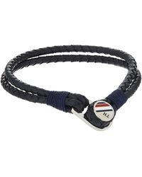 Tommy Hilfiger Bracelets en corde - Bleu