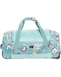 Roxy Large Wheeled Duffle Bag - Blue