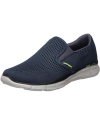 Skechers Equalizer Double Play Wide-51509W Fitnessschuhe - Blau