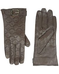 CALVIN KLEIN 205W39NYC - Quilted Buckle Gloves - Lyst