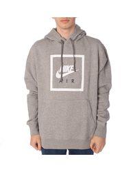 Nike Hoodie NSW PO Hoodie AIR Größe: XL Farbe: 063d.grh/w - Grau