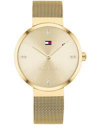 Tommy Hilfiger Herren-Armbanduhr Decker, silber - Mettallic