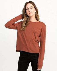 RVCA - Cited Thermal Top, - Lyst