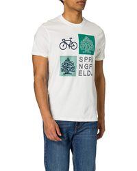 Springfield Camiseta Regular Logo Reconsider - Multicolor