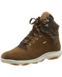 Geox D NEBULA 4 X 4 B ABX A Chukka Boots - Braun