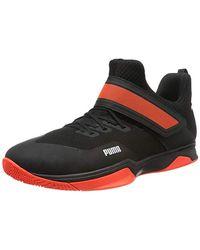 PUMA Rise XT 3, Zapatos de Futsal Unisex Adulto - Negro