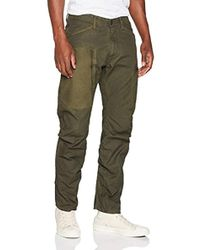 G-Star RAW - Powel PM 3D Tapered Pantalones para Hombre - Lyst