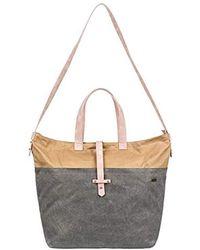 Roxy Stripey Love Large Crossbody Bag - Multicolor