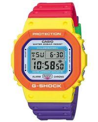 G-Shock - Orologio DW-5610DN-9ERt - Lyst