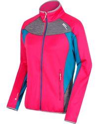 Regatta S/Ladies Yare Knitted Strech Fabric Elastane Jacket - Mehrfarbig