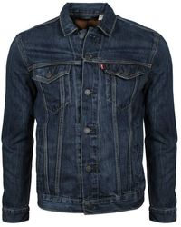Levi's The Jacket Giacca in Jeans - Blu