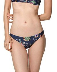 Desigual Swimwear Bottom Rem B Woman Blue Braguita de Bikini para Mujer - Azul