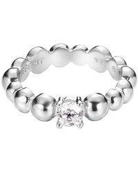 Esprit Jewels -Ring 925 Sterling Silber Solo pellet Gr. 53 - Mettallic