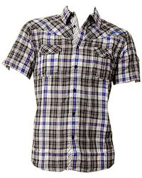 Quiksilver Resident Short Sleeve Shirt - Black - Metallic