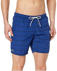 Lacoste Short Homme - Bleu