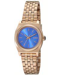 Nixon A3991748 Small Time Teller Watch - Multicolour