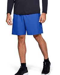 Under Armour Woven Graphics Short - Bleu