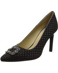 Geox D Faviola A Closed Toe Heels - Black