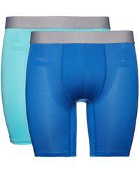 FIND Marchio Amazon - - Belk063m2, Pantaloncini Uomo, Blau (Turquoise/Worker Blue), S, Label: S
