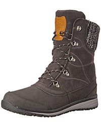 Yves Salomon - Hime Mid Leather Cswp Winter Wear Shoe - Lyst