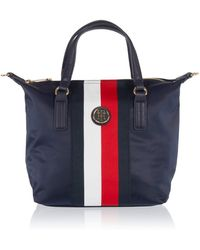 Tommy Hilfiger Poppy Small Tote Corp 's Cross-body Bag - Blue