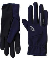 Asics Show 2 Running Gloves - Aw19 - Blue