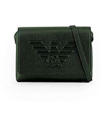 Emporio Armani - Accessoires Borsa A Spalla Verde FW 19-20 - Lyst