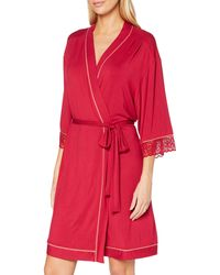 Triumph Amourette Spotlight Robe Bata - Rojo
