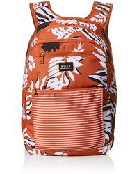 Roxy Here You Are Printed Backpack - Orange