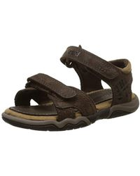 Bluffs Enfant Casual Leather Marron 2strapMixte Sandal oak Active MpjqSUGzLV