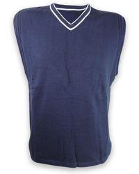 Nike S Dri-fit Top Sleeveless Training Top Vest Navy,l - Blue